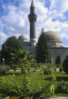 Yesil Camii mosque, also known as the Green Mosque, constructed 1378-1391 by Haci Bin Musa, Iznik, Turkey