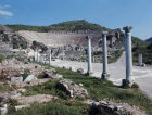 Turkey Ephesus the Arcadian way leading to the Theatre which was constructed during the Hellenistic period