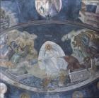Anastasis, wall painting 1340, apse of the Paracclesion, Kariye Camii, Istanbul, Turkey