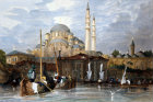 The Yeni Cami or Sultan Valide or new Mosque, engraving by Coke Smith