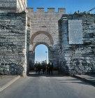 The Edirne gate, Istanbul, Turkey