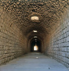 Turkey Pergamon the Sacred Tunnel in the Asclepium