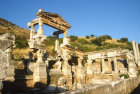Turkey Ephesus  the Fountain of Trajan