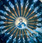 Turkey Istanbul Kariye Camii  medallion southern dome Christ Pantocrator and figures of the genealogy of Christ