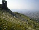 Theatre, dating from Hellenistic period, Pergamum, Turkey