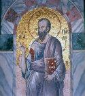 Turkey Istanbul St Paul mosaic in Kariye Camii  14th century