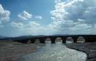 Turkey, Selcuk, Cobandede bridge over the river Araxes or Aras on the Silk Road from Erzurum to Kars, 13th century
