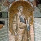 Turkey Istanbul Kariye Camii St Peter 14th century mosaic