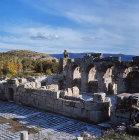 Roman Baths, section, Aphrodisias, ancient region of Phrygias, Turkey