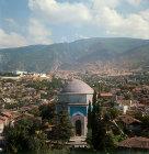 Green Mausoleum of Mehmet I, died 1421, Bursa, Turkey