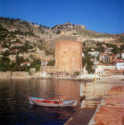 Kizil Kule (Red tower), thirteenth century Selcuk, Pamphylia, modern day Antalya, Turkey
