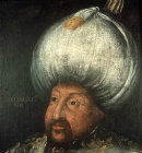 Sultan Selim II, 1566-1574, portrait in the Topkapi Palace Museum, Istanbul, Turkey