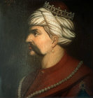 Selim I, 1512-1520, portrait in the Topkapi Palace Museum, Istanbul, Turkey