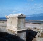 Roman tomb on the roadside near Iznik, Turkey