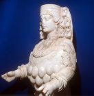 Artemis, second century sculpture found in town hall at Ephesus, now in Selcuk Museum, Ephesus, Turkey
