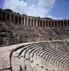Roman theatre, built by Greek architect Zenon, 155 AD, Aspendos in Pamphylia, Turkey