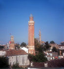 Yivli minare, fluted minaret, built 1230, Antalya, Turkey
