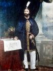 Abdulmecid I, 1839-1861, portrait in Topkapi Palace Museum, Istanbul, Turkey