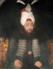 Sultan Mustafa III, 1757-1774, portrait in the Topkapi Palace Museum, Istanbul, Turkey