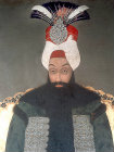 Sultan Abdulhamid I, 1774-1789, portrait in the Topkapi Palace Museum, Istanbul, Turkey