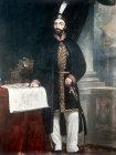 Sultan Abdulmecid I, portrait in the Topkapi Palace Museum, Istanbul, Turkey