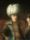 Sultan Mehmed I, 1403-1421, portrait in the Topkapi Palace Museum, Istanbul, Turkey