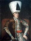 Sultan Murad IV, 1623-1640, portrait in the Topkapi Palace Museum, Istanbul, Turkey