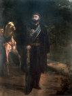 Sultan Abdulaziz, 1861-1876, portrait in the Topkapi Palace Museum, Istanbul, Turkey