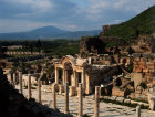 Turkey Ephesus the Temple of Hadrian 2nd century AD