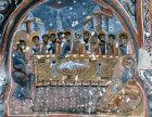Last Supper, 1200-10, Karanlik Kilisi, rock-cut church in Goreme Valley, Cappadocia, Turkey