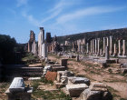 Main colonnaded street, Perge, Pamphilia, Turkey