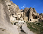 Rock-cut churches in the Goreme Valley, Cappadocia, Turkey