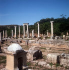 Main colonnaded street, Perge, Pamphilia, Turkey