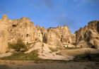 Rock-cut churches in Goreme Valley dating from 3rd century and  4th century, Goreme Valley, Cappadocia, Turkey