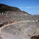 Theatre, second century AD, Greco-Roman, with seats for 15,000 people, Perge, Pamphilia, Turkey