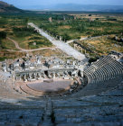 Turkey Ephesus the Theatre with the Arcadian Way beyond