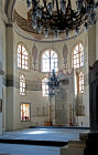 Mihrab inserted into apse of former Church of Saints Sergius and Bacchus, converted into a mosque, Kucuk Aya Sofya Camii, Istanbul, Turkey