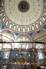 Rustem Pasa Camii, interior and dome, built by Sinan to commemorate one of Suleyman the Magnificent
