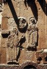 Turkey, Armenian Church on the Island of Achthamar on Lake Van, details of John the Baptist, St Gregory the Illuminator east facade 915-921 AD
