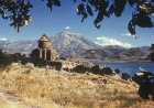 Turkey, Armenian Church on the Island of Achthamar on Lake Van