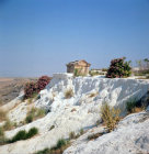 Turkey Pamukkale ancient Hierapolis roman tomb
