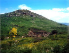 Mount Pion, Roman Skolastika baths below, dating from the first century Ephesus, Turkey