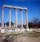Temple of Tyche, goddess of fortune, Roman, late first century AD, Olba, (Uzuncaburc), Turkey