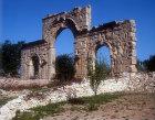 Archway spanning street, Roman period, Olba, (Uzuncaburc), Turkey