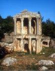 Hellenistic tomb on the road between Uzuncaburc and Silifke, Turkey