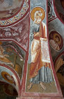Prophet Isaiah, eleventh century, Elmali Kilsesi (Apple Church), Goreme, Cappadocia, Turkey