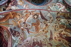 Christ ascending into Heaven, eleventh century, Cankli Kilisesi (Sandal Church) Goreme, Cappadocia, Turkey