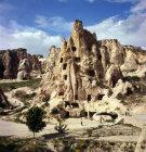 Rock-cut monastery, Goreme, Cappadocia, Turkey