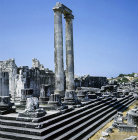 Temple of Apollo, 300 BC to second century AD, view from north east, Didyma, Turkey