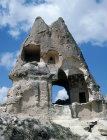 Turkey, Cappadocia,  Ninnazan el Nazar Kilise, 10th century